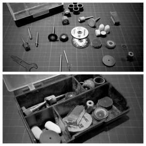 Dremel 4000 - 1/45 accessories