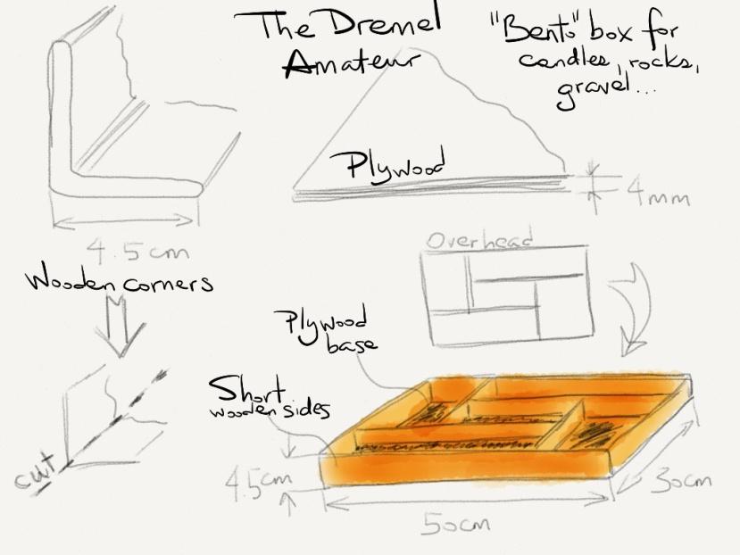 Dremel 4000 blueprint - Bento Box